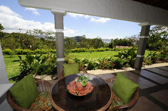 Enjoy breakfast on your own private deck, with a splendid view of the surrounding area